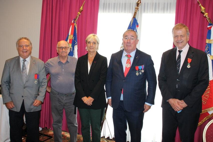 Ils se sont retrouvés en assemblée générale : chaleureuses agapes pour les membres de la Légion d'Honneur