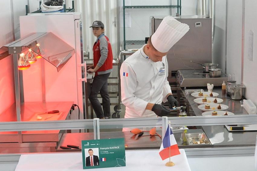 Les épreuves de cuisine des WORLD SKILLS France accueillies au CIFA les 07 et 08 avril : Auxerre vitrine nationale de la gastronomie !