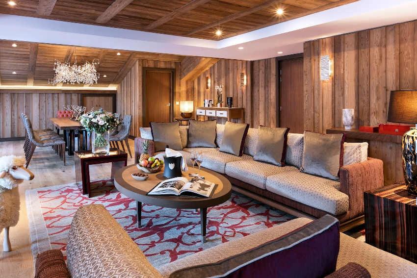 BEAUJARD AGENCEMENT achève le nouvel hôtel du groupe BARRIERE à Courchevel…