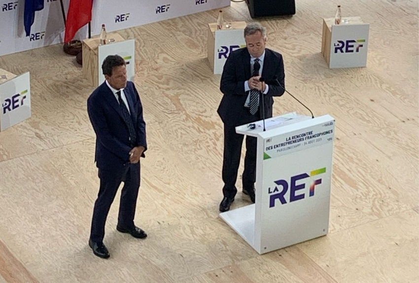 La francophonie sous le prisme de l'économie et de l'entrepreneuriat avec le MEDEF