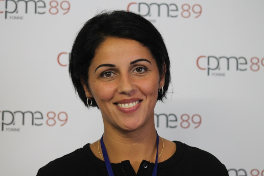 Le nouveau visage de la CPME Yonne se nomme Emmanuelle MIREDIN