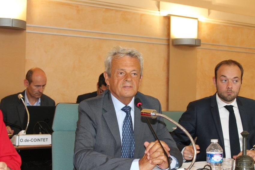 Patrick GENDRAUD (LR), élu président du Conseil départemental de l'Yonne après trois tours de scrutin…