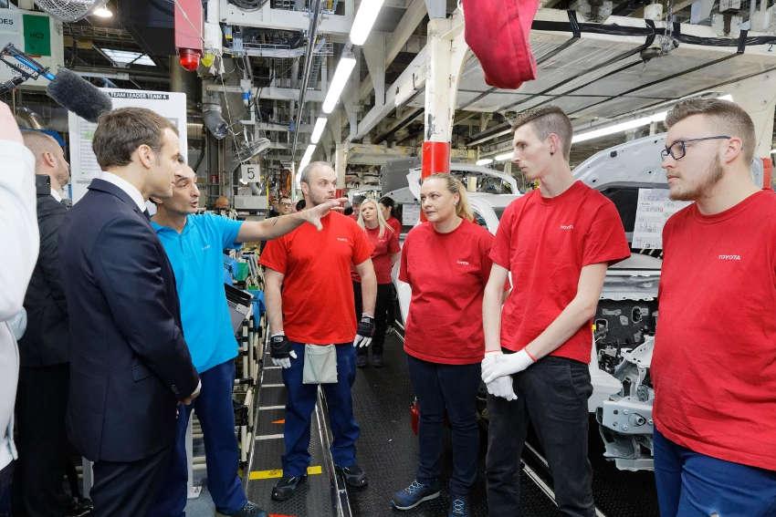 TOYOTA injecte plus de 300 millions d'euros sur le site de Valenciennes, favorisant ainsi la création de 300 emplois…