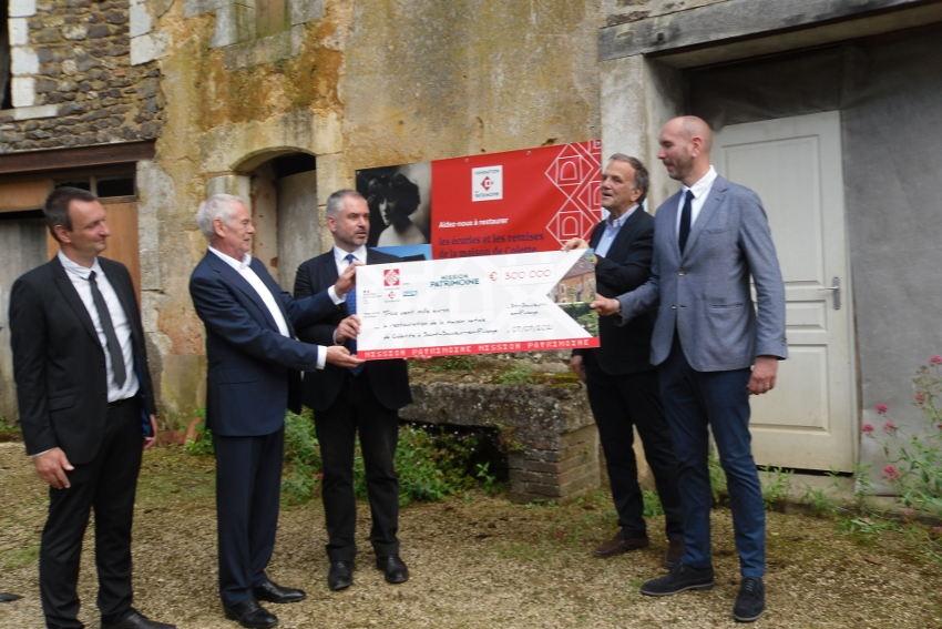 Loto gagnant pour la maison natale de Colette : 300 000 euros seront affectés à l'embellissement de la demeure