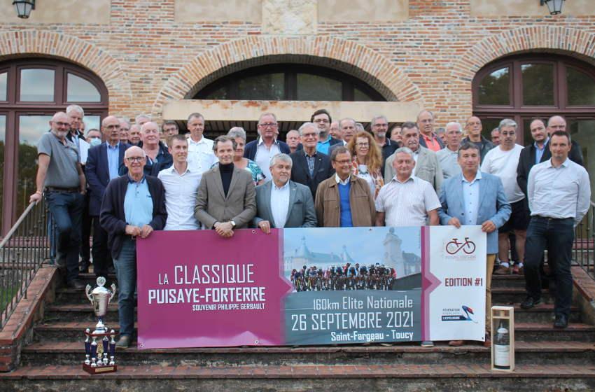La Puisaye-Forterre accueille la fine fleur du cyclisme de l'élite nationale lors du Souvenir Philippe GERBAULT