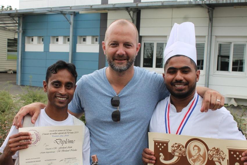 Le sourire victorieux du Bangladesh rayonne sur la sélection départementale du MAF Cuisine 2019…
