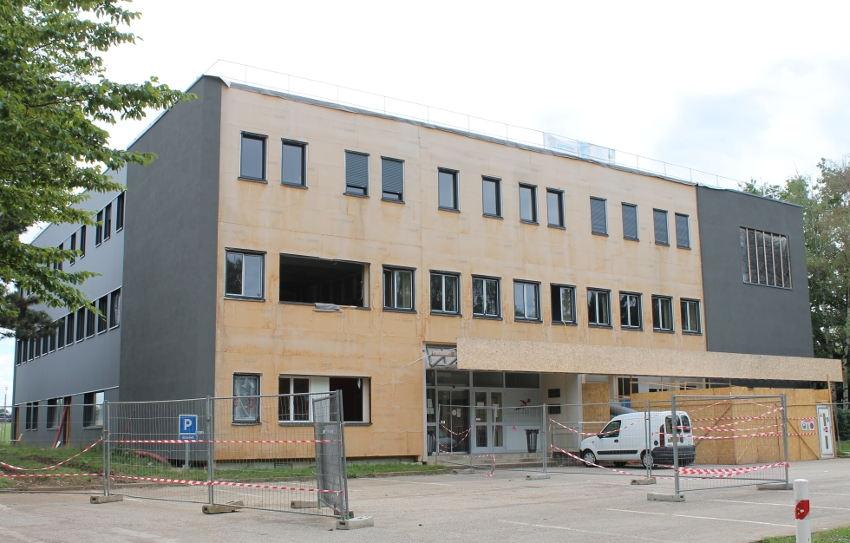 La première tranche de travaux se conclut au CFA La Noue