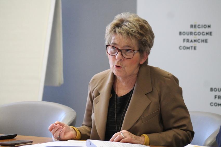 TER, lycées et RH : il n'y aura pas d'effet ciseau dans le budget 2020 de la Région pour Marie-Guite DUFAY