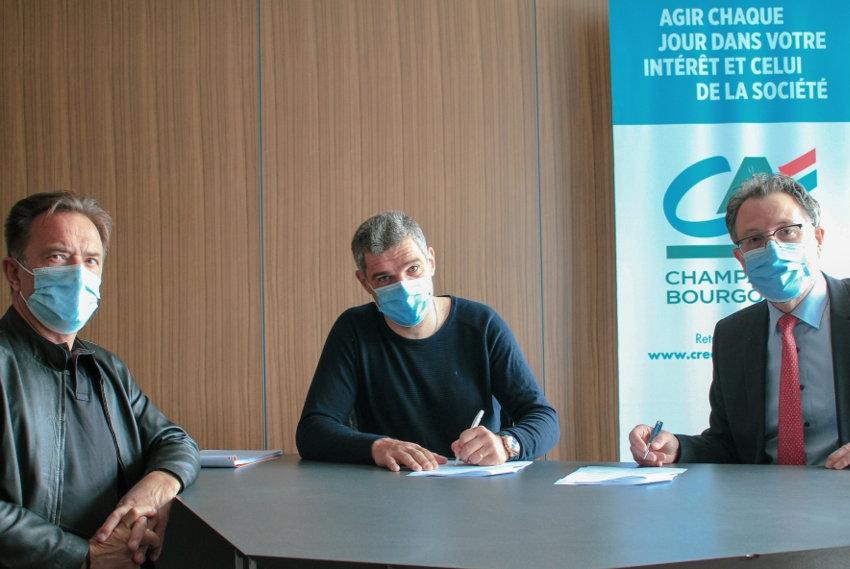 Partenaire de la Franck Pineau depuis 1997 : le Crédit Agricole ne change pas de braquet et réitère son soutien