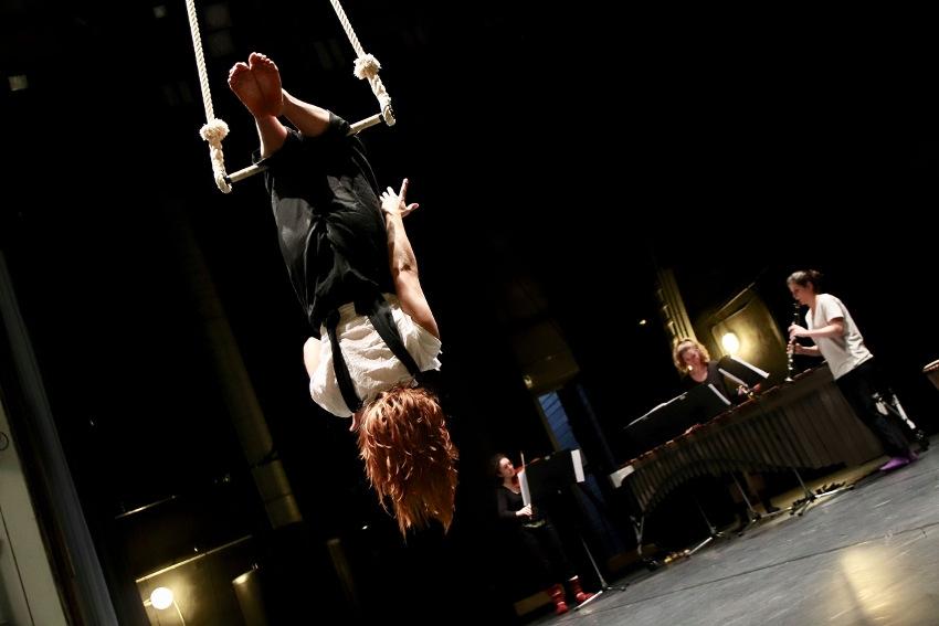 Danse, musique et cirque au Théâtre d'Auxerre : du « Cousu Main » pour un trio d'exception !