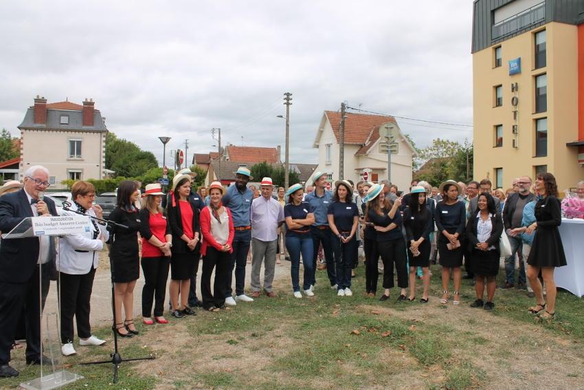 IBIS BUDGET Auxerre Centre : la deuxième étoile de la réussite professionnelle transcende le team GEHIN !