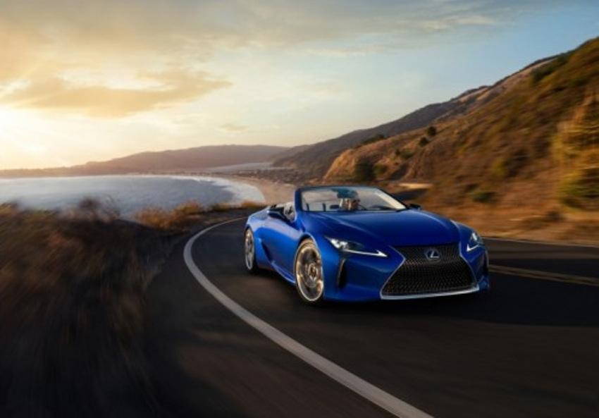 Il sera l'une des révélations à Genève : le cabriolet LC 500 au summum de sa beauté…