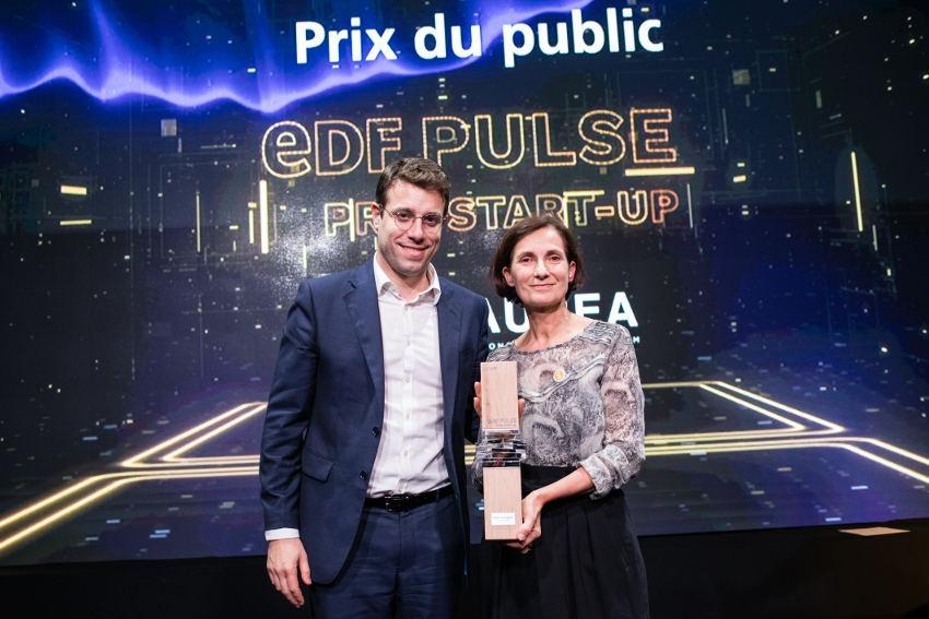 Le public plébiscite SAUREA : leur moteur solaire reçoit un coup de cœur aux Prix Start-up EDF PULSE 2019…
