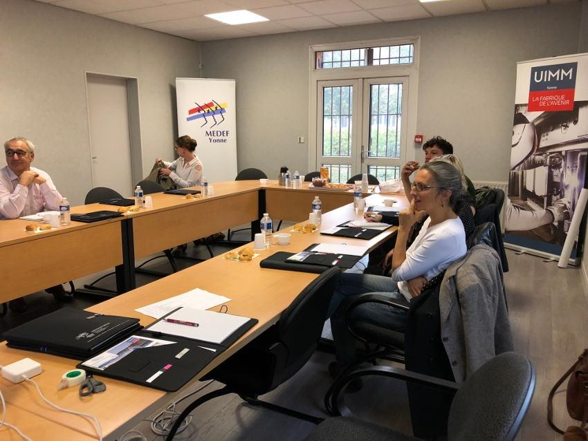 Le MEDEF et l'UIMM sensibilisent aux principes vertueux de l'économie circulaire grâce à un workshop…