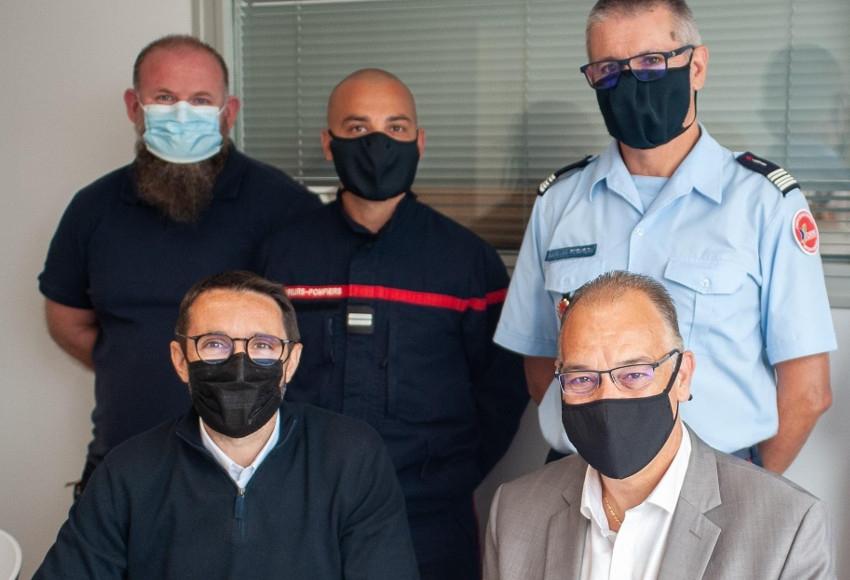 Convention avec le SDIS 89 : le Centre E.LECLERC d'Auxerre assurera le ravitaillement des soldats du feu