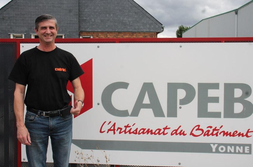 Il intègre le Conseil d'administration de la CAPEB : Jean-Pierre RICHARD placé sur une orbite nationale…