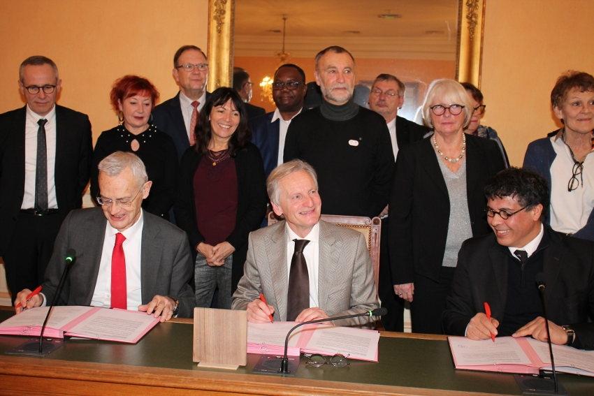 Auxerre intègre le club des villes qui promeuvent les vertus de la laïcité : un clin d'œil malicieux à Paul BERT…