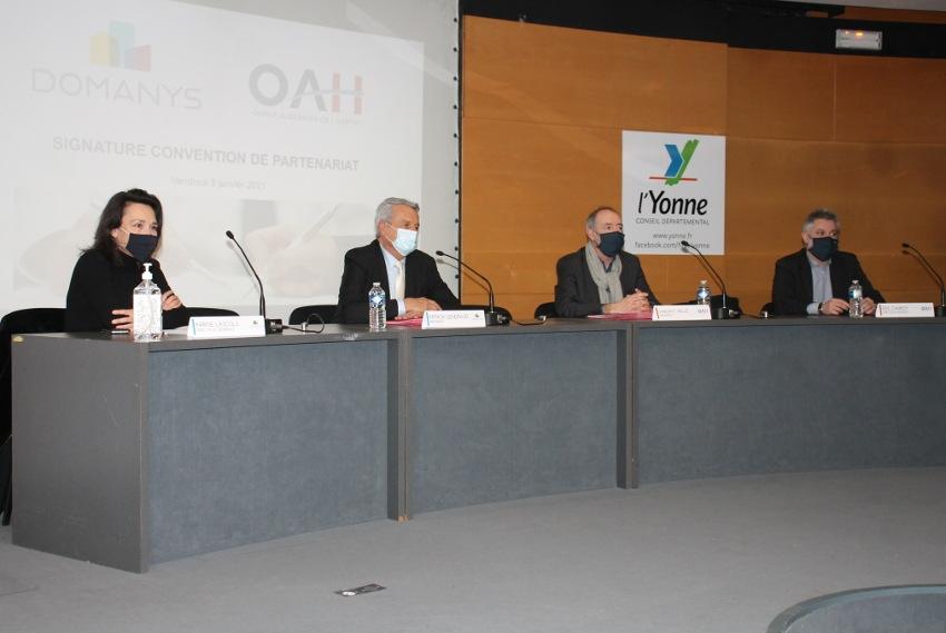 DOMANYS et l'OAH tissent enfin des liens de convergence : un partage de compétences utile à tous !
