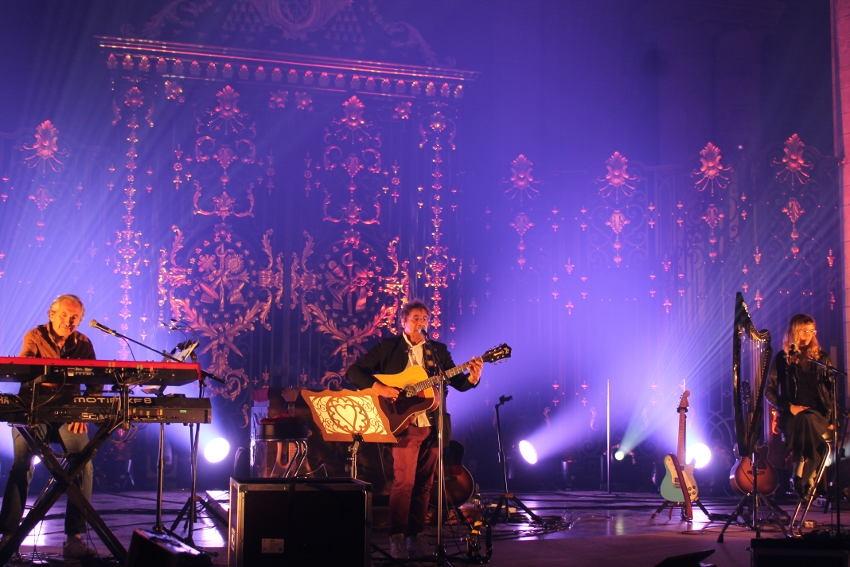 Laurent VOULZY en répétition à la cathédrale Saint-Etienne : le sens de la perfection absolue…