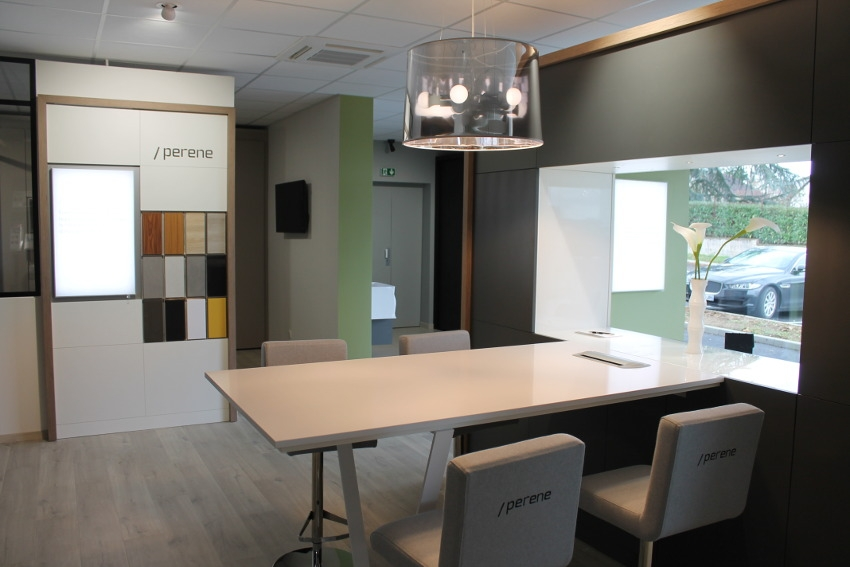 Inauguration : un show-room ergonomique en guise d'écrin pour PERENE PREMIUM…