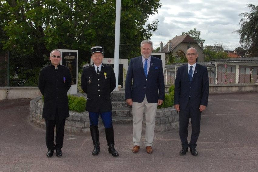 Jacques BLANCHOT promu au sein de la réserve citoyenne de la gendarmerie : appelez-le mon colonel !