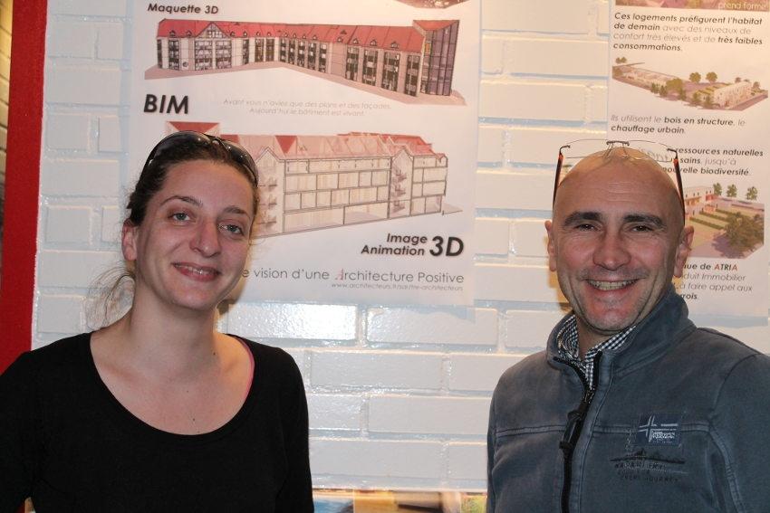 Visite technique sur les réalisations du cabinet ATRIA ARCHITECTES…