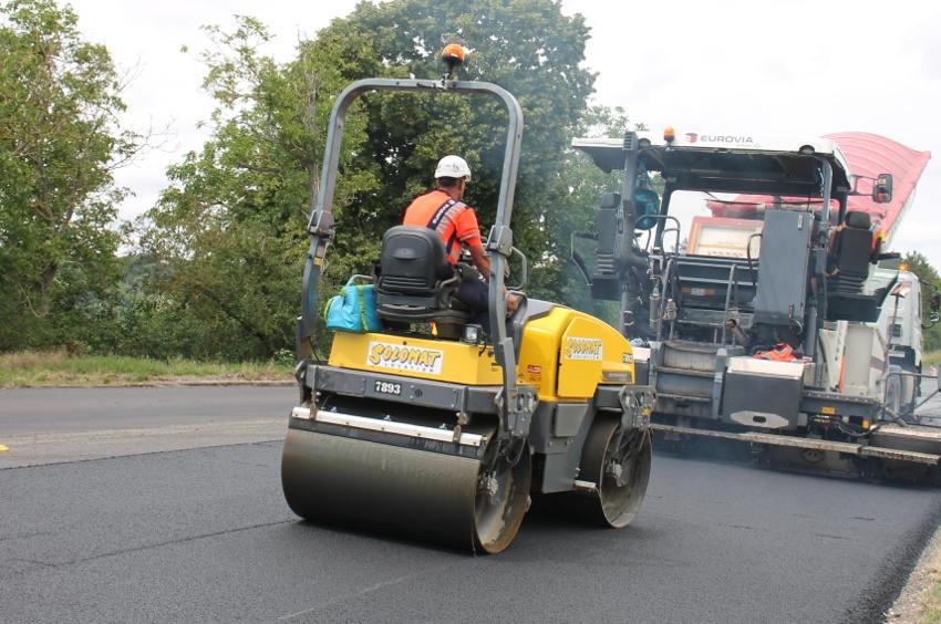 La RN 6 en travaux cette semaine : prudence et vigilance au giratoire de Perrigny !