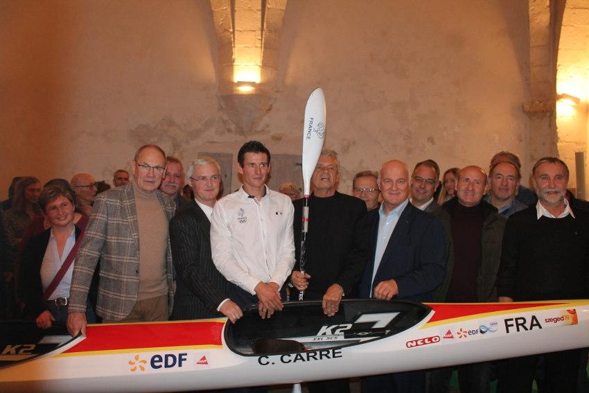 Cyrille CARRE célébré pour ses titres de gloire : le département fier de son champion…