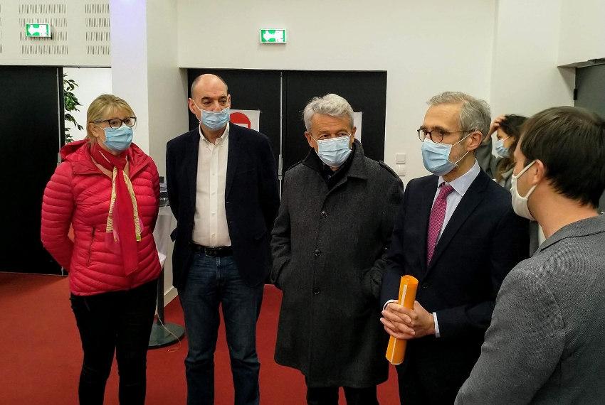 Un centre de soins éphémère à AUXERREXPO pour une vaccination que l'on souhaite pérenne contre la COVID…