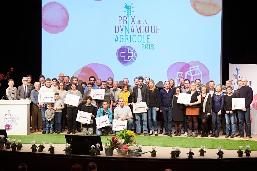 La dynamique agricole se valorise à huit reprises grâce à la Banque Populaire Bourgogne Franche-Comté