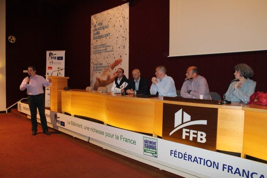 La FFB présente les opportunités de la filière bâtiment aux étudiants du génie civil de l'IUT Auxerre…