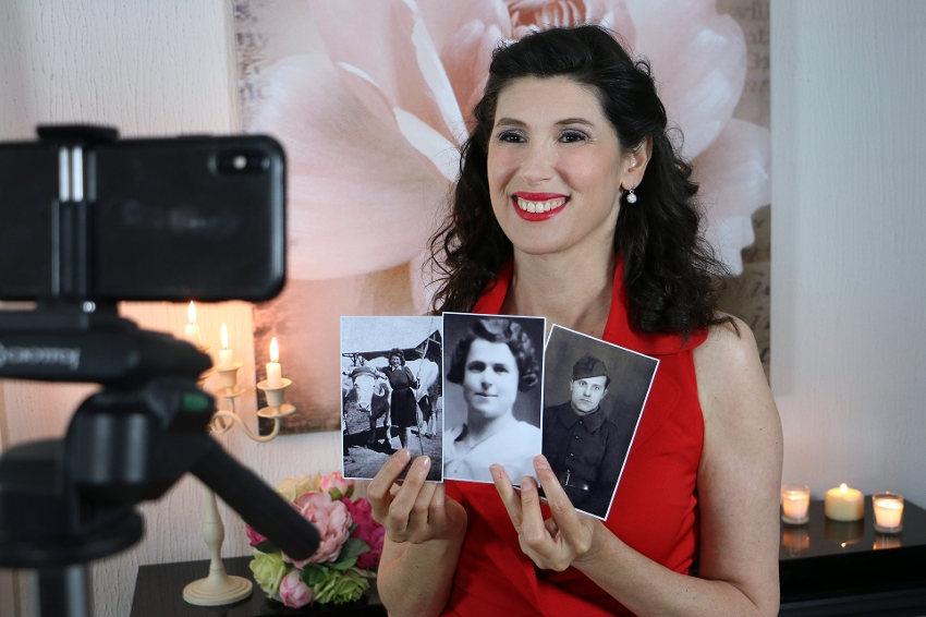 Elle se qualifie pour la finale du Festival de Yalta : le devoir de mémoire en chanson de Christelle LOURY…