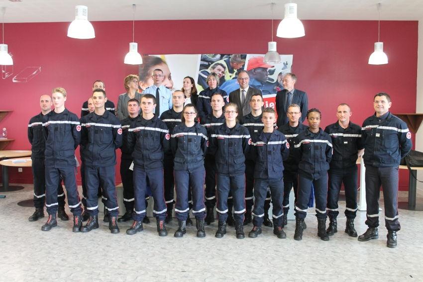 Les volontaires du service civique offrent une excellente opportunité de recrutement pour le SDIS de l'Yonne…