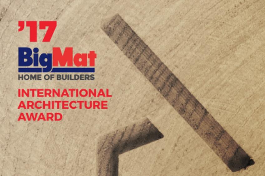 « BigMat International Architecture Award » : verdict attendu de la 3ème édition le 24 novembre en Italie !