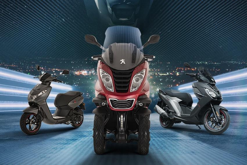Peugeot Motocycles préconise les vertus de la mobilité individuelle pour garantir la sécurité collective…