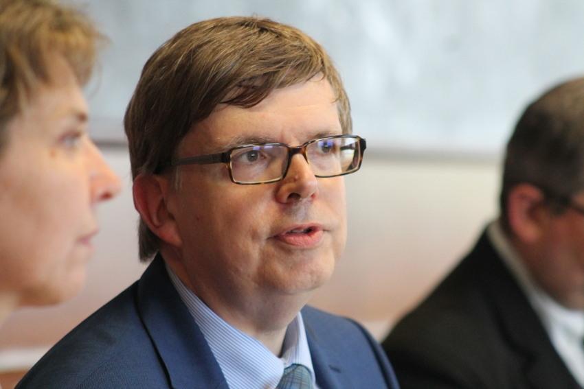 Le nouveau directeur-adjoint de la CPAM en conférence de presse : exercice de style réussi pour Thierry GALISOT