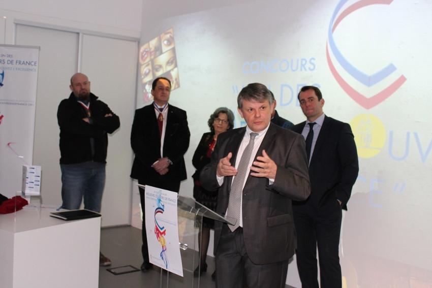 Objectif du concours des Meilleurs ouvriers de France : la mobilisation de nombreux candidats…