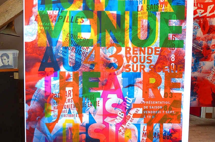 Les arts graphiques tiendront le haut de l'affiche au Théâtre d'Auxerre