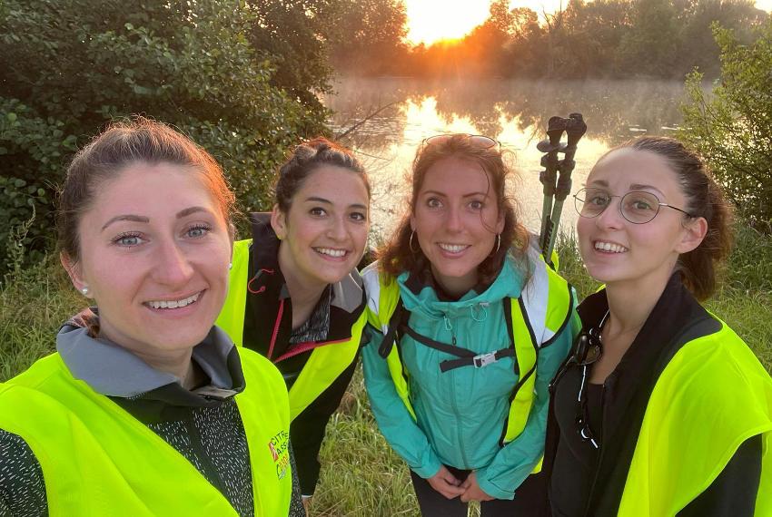 Les « L'Yonne » prêtes à rugir sur les pistes de l'OXFAM Trailwalker !
