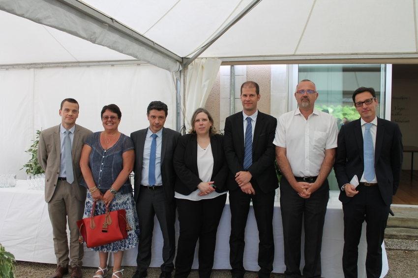 Me Laurent TOPIN succède à Me Jean-Marie ODIN à la Chambre départementale des notaires de l'Yonne…