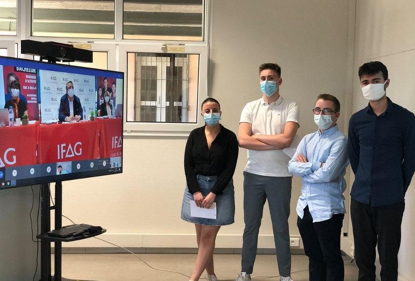 ECOTROPHEES 2021 : quand EPICURE n'apporte que du bonheur à quatre étudiants de l'IFAG Auxerre !