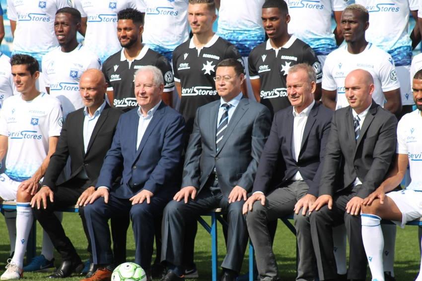 Francis GRAILLE quitte la présidence de l'AJ Auxerre : James ZHOU en taille patron à la tête du club bourguignon