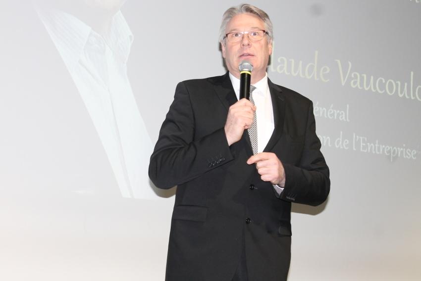Claude VAUCOULOUX prêt à revêtir son habit de lumière pour éclairer le monde de l'entrepreneuriat…