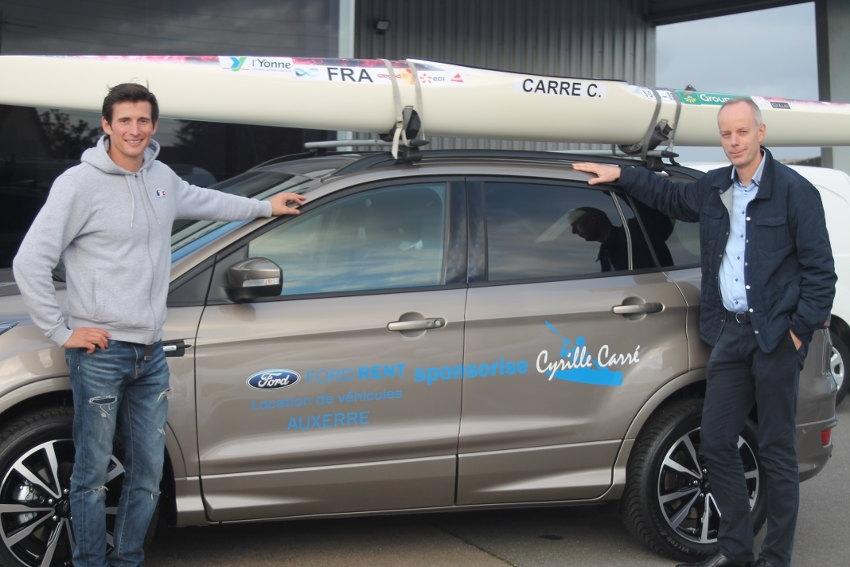Le multiple champion du monde de canoë-kayak Cyrille CARRE roule vert !