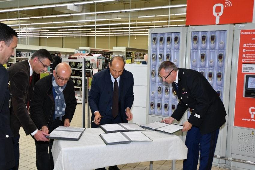 Une première dans l'Yonne : une signature optimise la coopération autour de la sécurité…