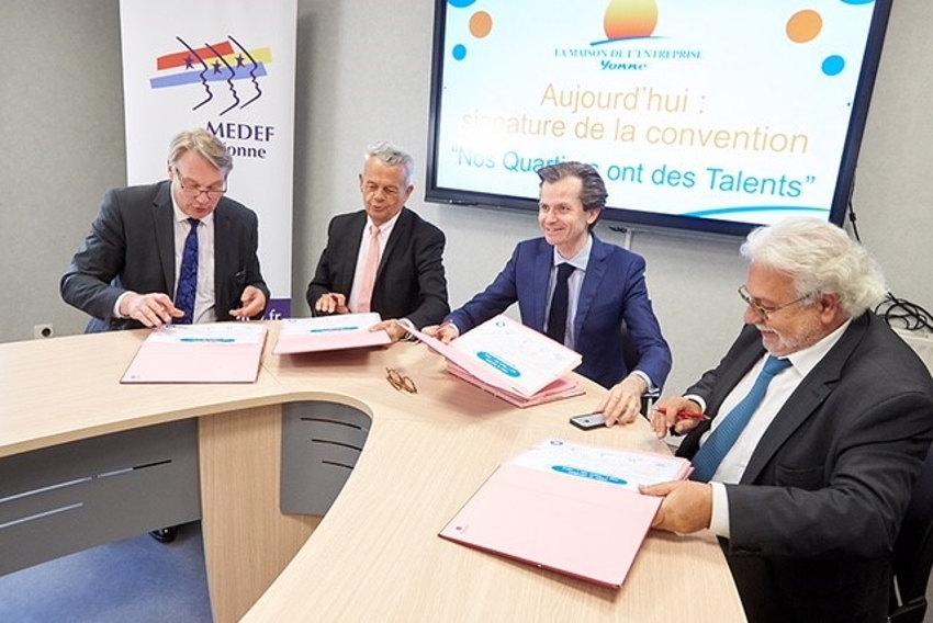 A l'initiative du député LR Guillaume LARRIVE, le concept NQT implante sa première antenne régionale à Auxerre